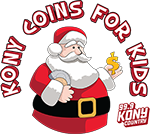 KONY – Coins for Kids Logo